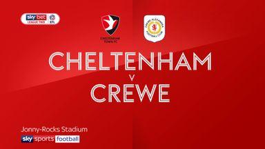 Cheltenham 1-1 Crewe