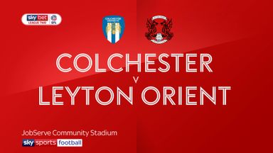 Colchester 2-1 Leyton Orient