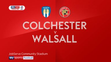 Colchester 0-0 Walsall