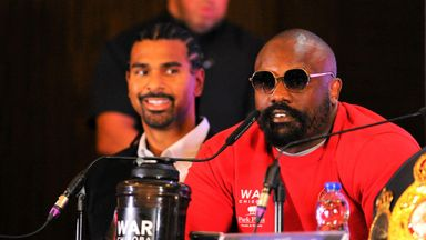 Chisora reveals all on Haye relationship
