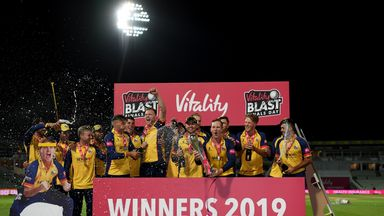 T20 Blast Final: Essex beat Worcs