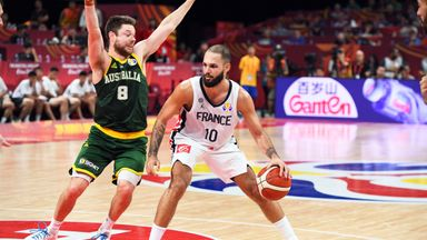Fournier leads France to third place