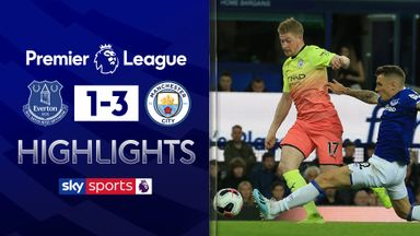 De Bruyne shines as City beat Everton
