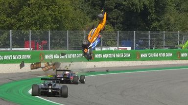 Shocking crash in F3