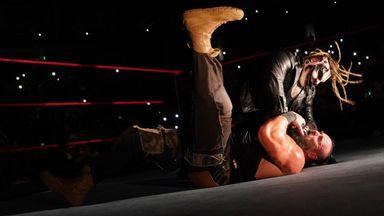 Fiend attacks Rollins & Strowman