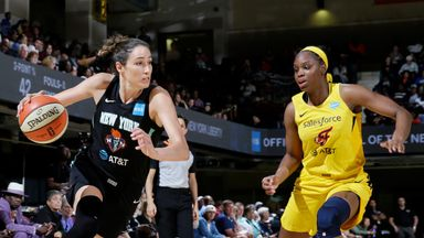 WNBA: Fever 86-81 Liberty