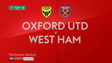 Oxford Utd 4-0 West Ham