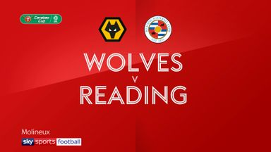 Wolves 1-1 Reading (4-2 pens)