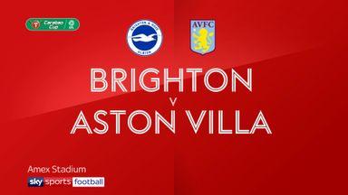 Brighton 1-3 Aston Villa