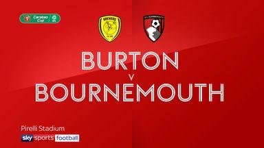 Burton 2-0 Bournemouth