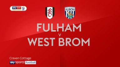 Fulham 1-1 West Brom