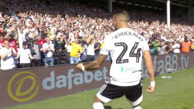 Knockaert scores stunner for Fulham
