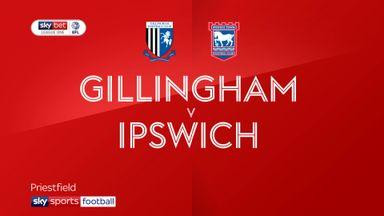 Gillingham 0-1 Ipswich