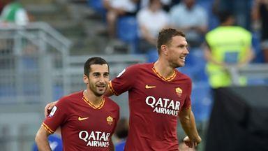 Dzeko hoping for long Mkhi stay at Roma