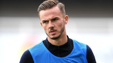 Maddison not 'entitled' to England caps