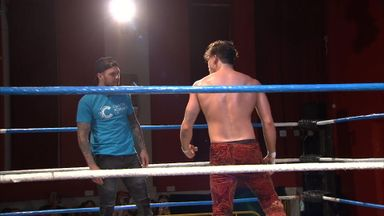 Norwood stars in wrestling debut!