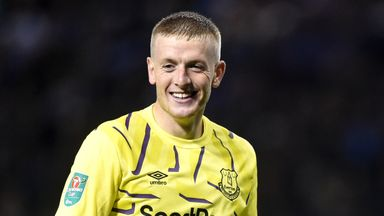 Pickford: I'm much calmer this season