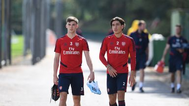 Tierney and Bellerin close to return