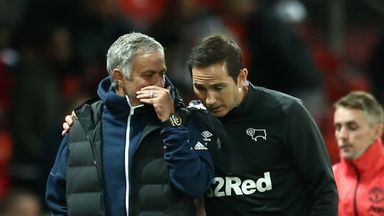 Lampard reveals Mourinho exchange