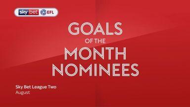 League Two GOTM nominations - August