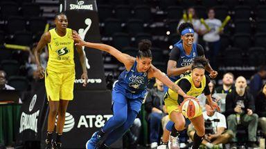 WNBA: Lynx 74-84 Storm