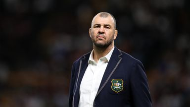 Cheika: RWC referees 'seem spooked'