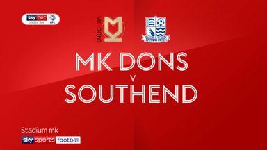 MK Dons 0-1 Southend