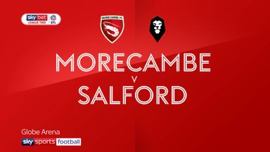 Morecambe 2-2 Salford