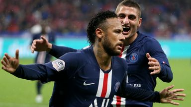 Neymar scores 'breathtaking' winner