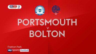 Portsmouth 1-0 Bolton