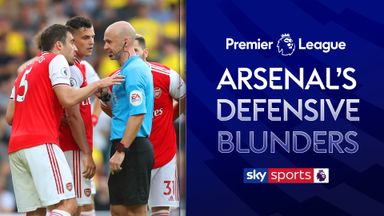 Arsenal's defensive video nasties!