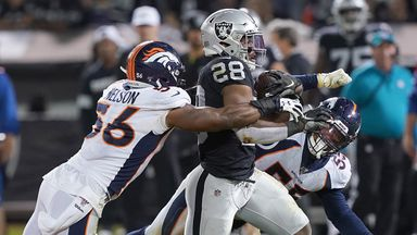 Broncos 16-24 Raiders