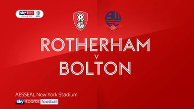 Rotherham 6-1 Bolton