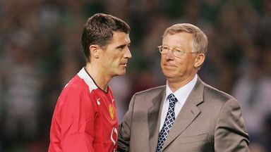 Keane criticises Sir Alex's decisions