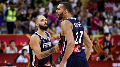 France shock USA at FIBA World Cup