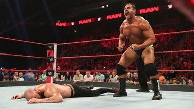 Rusev returns to Raw!