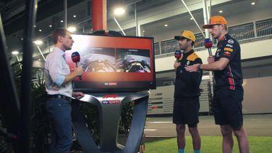 Verstappen & Ricciardo's SkyPad chaos