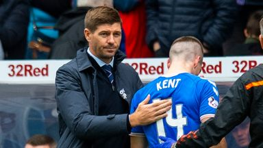 Gerrard: Kent out for 'a few weeks'