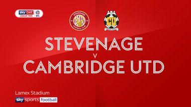 Stevenage 1-1 Cambridge