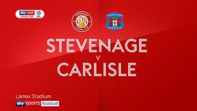 Stevenage 2-3 Carlisle