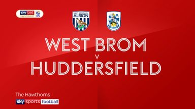 West Brom 4-2 Huddersfield