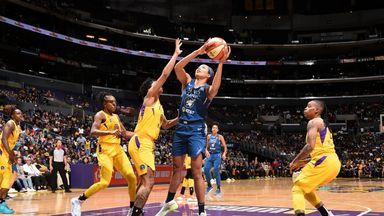 WNBA: Lynx 68-77 Sparks