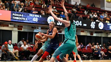 WNBA: Mystics 93-77 Liberty