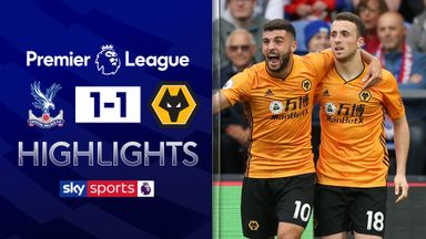 Ten-man Wolves score last-minute equaliser