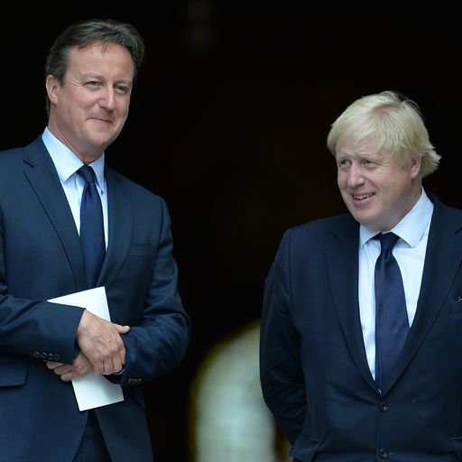 Boris Johnson called David Cameron 'girly swot', leaked document reveals