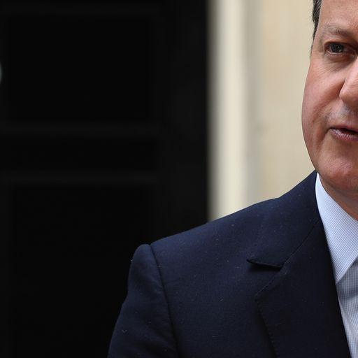 The best bits: Highlights of David Cameron's memoir so far