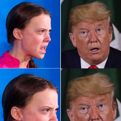 Greta Thunberg hits back at Donald Trump