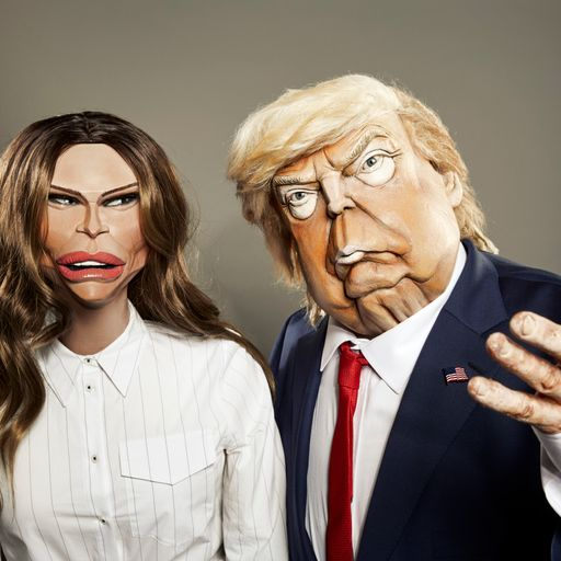 Spitting Image: Trump and Melania feature in new show