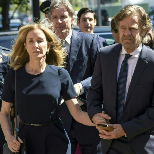 Desperate Housewives star Felicity Huffman jailed over college admissions scandal