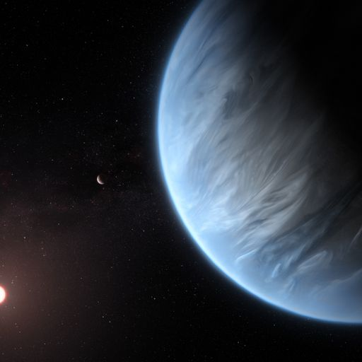 K2-18b: Water vapour discovery means giant 'super-Earth' could support life